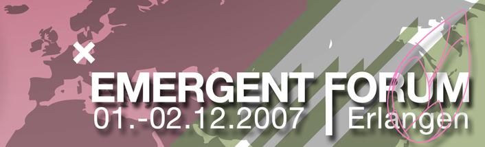Emergent Forum 2007