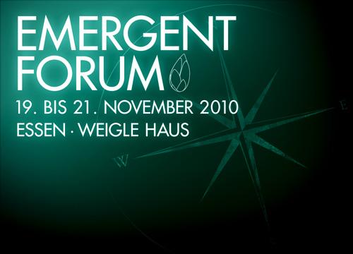 Emergent Forum 2010 - Postkarte