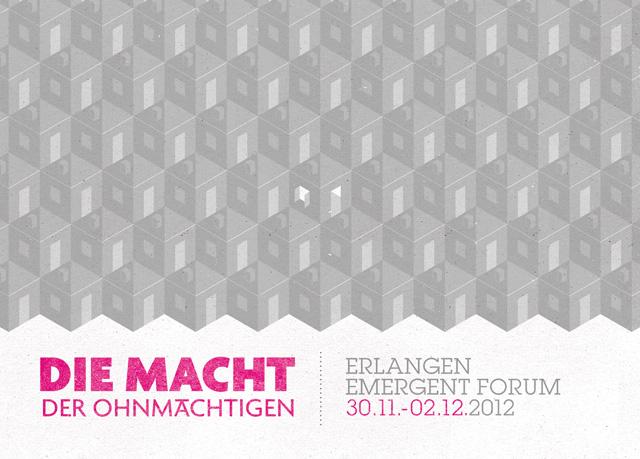 Emergent Forum 2012 in Erlangen