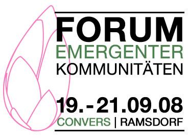 Forum emergenter Kommunitäten 2008