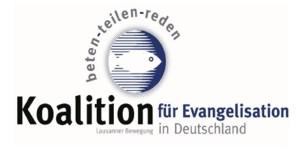 Koalition für Evangelisation in Deutschtland - Lausanner Bewegung